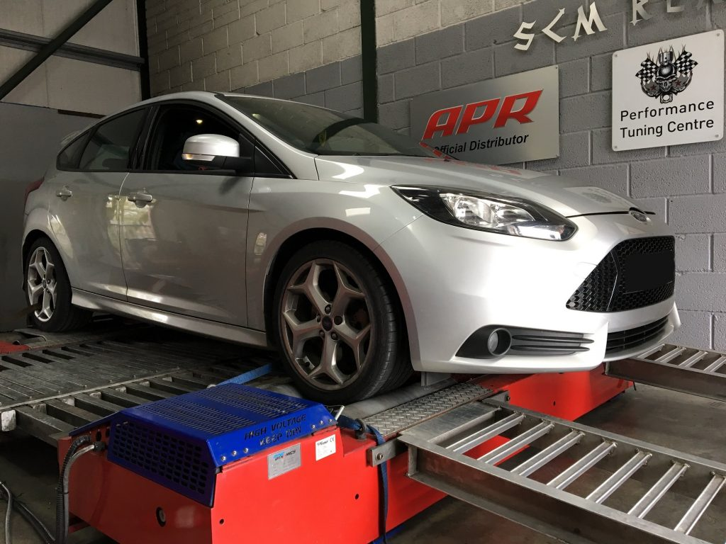 Ford focus on dyno
