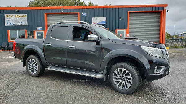 SCM Remaps Nissan Navara Stage 1 Tuning South Wales
