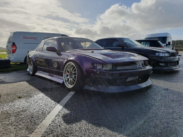 SCM Remaps 1JZ PS13 purple nissan silvia