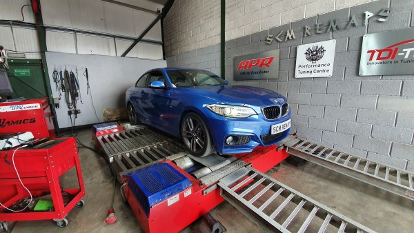 SCM Remaps Swansea Crosshands ECU Mapping BMW Remap Blue