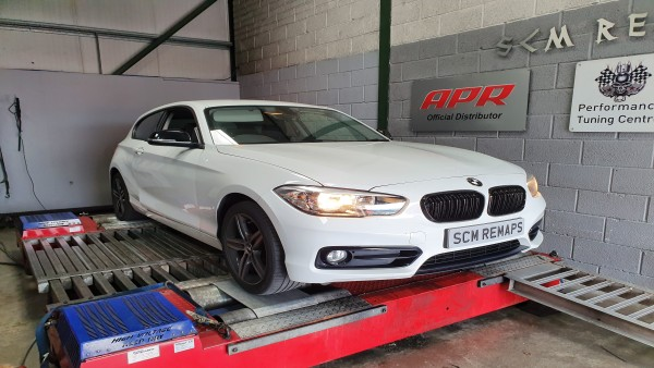 SCM Remaps Swansea Crosshands ECU Mapping BMW White Map