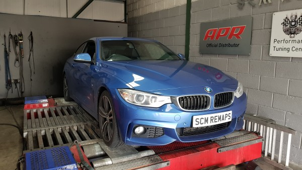 SCM Remaps Swansea Crosshands ECU Mapping Blue BMW