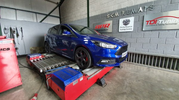 SCM Remaps Swansea Crosshands ECU Mapping Blue Ford Fiesta
