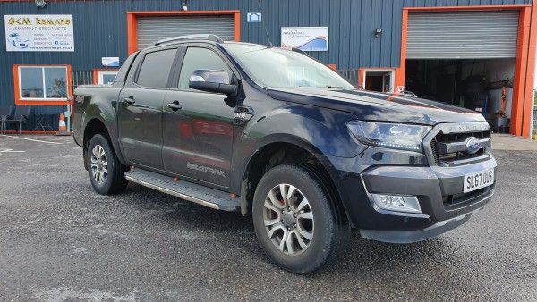 SCM Remaps Swansea Crosshands ECU Mapping Ford Ranger Black