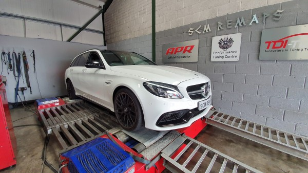 SCM Remaps Swansea Crosshands ECU Mapping Mercedes White Map