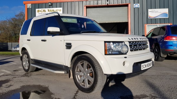 SCM Remaps Swansea Crosshands ECU Mapping Range Rover White