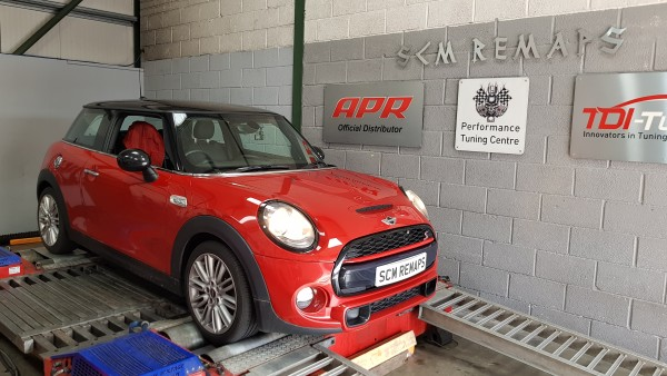 SCM Remaps Swansea Crosshands ECU Mapping Red Mini Cooper