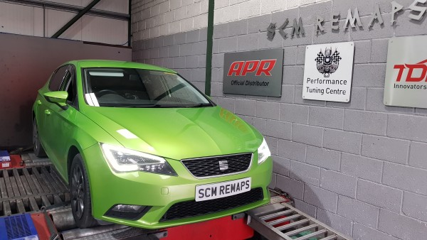 SCM Remaps Swansea Crosshands ECU Mapping Seat Green