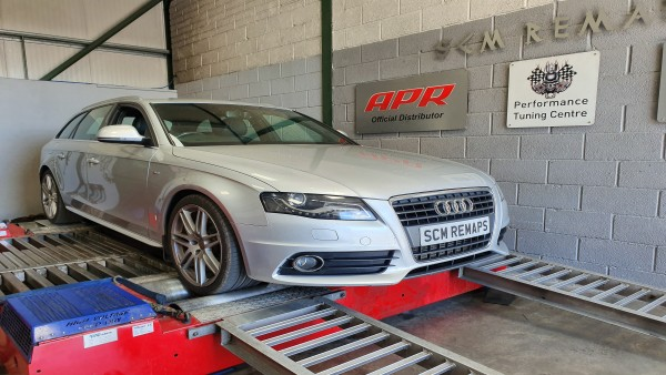 SCM Remaps Swansea Crosshands ECU Mapping Silver Audi Map