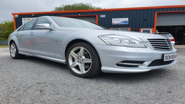 SCM Remaps Swansea Crosshands ECU Mapping Silver Mercedes