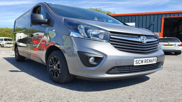 SCM Remaps Swansea Crosshands ECU Mapping Silver Vauxhall Van
