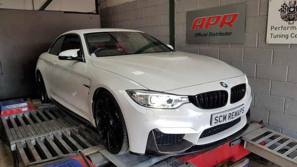 SCM Remaps Swansea Crosshands ECU Mapping White BMW