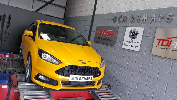SCM Remaps Swansea Crosshands ECU Mapping ford Fiesta yellow