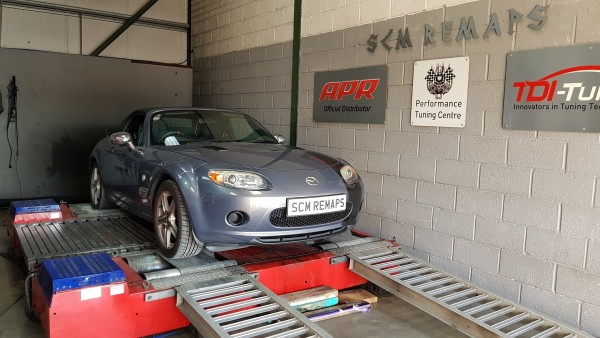 SCM Remaps Swansea Crosshands ECU Mapping silver