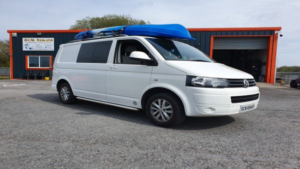 SCM Remaps Swansea Crosshands ECU Mapping vw Van White
