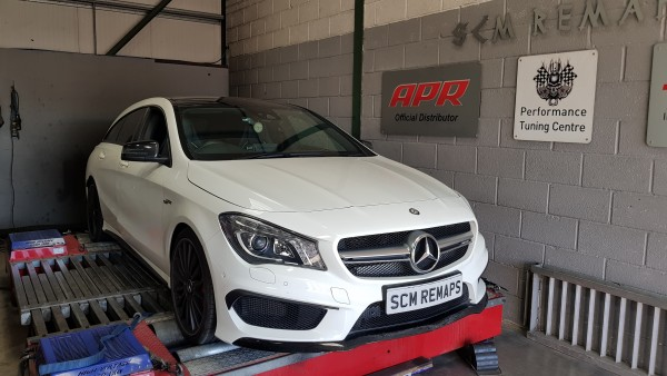 SCM Remaps Swansea Crosshands Mercedes ECU Mapping