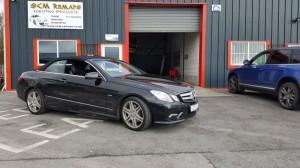 Mercedes convertable